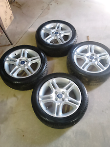 Ford Fiesta Alloy wheels Berri Berri Area Preview
