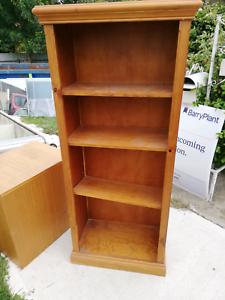 Solid Maple Bookshelf Bookcases Shelves Gumtree Australia