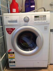 LG 7 kg 1200 rpm Front Load Washer Macgregor Belconnen Area Preview