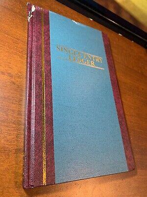 "s 500 Sheet - 11.75/"" X 7.25/"" Sheet Size Wilson Jones S300 Record Book White"