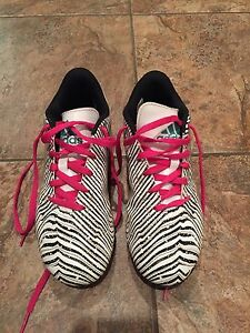 Adidas Soccer Cleats - outdoor, youth size 4