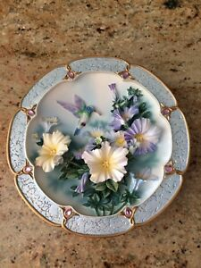 Collectors Hummingbird plate by Lena Lou
