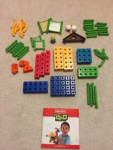 Trio Brick Sets by Fisher Price