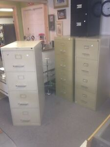 4 Drawer Filing Cabinets $75 eat