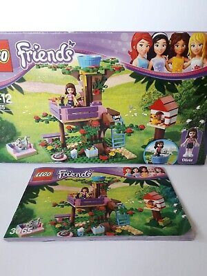 LEGO Friends 3065 Olivia's Tree House used + Box and Instructions 100% complete