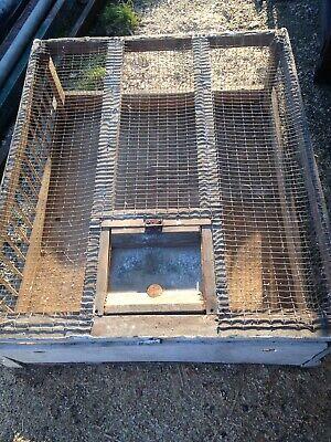 Vintage Pigeon Crate