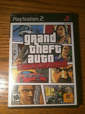 Grand Theft Auto: Liberty City Stories (PS2, 2006) *SAME DAY SHIPPING* SANITIZED