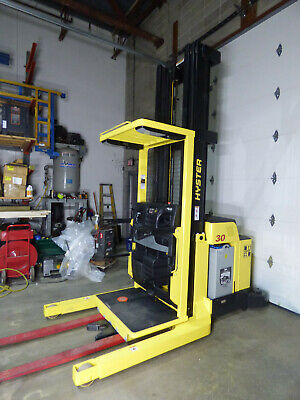 2013 Hyster R30xma3 Order Picker 1249 Hrs 300 Lift 3000lb Wow