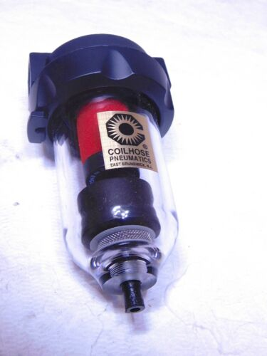 """CoilHose Pneumatics Coalescing Filter with Automatic Drain 3/8"""" Port 8923D"""