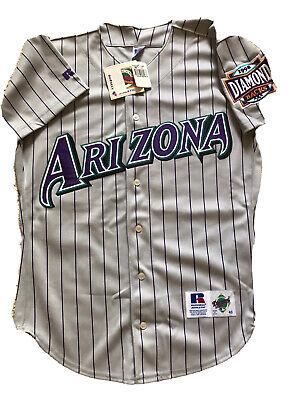 Authentic MLB ARIZONA DIAMONDBACKS Jersey, Diamond Series, Beautiful Sewn, Sz 40