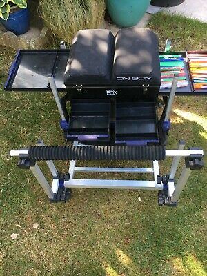 PRESTON INNOVATION ON BOX  PLUS EXTRAS AND TROLLEY
