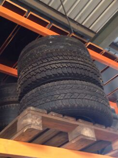 """Wheel & Tyre suit Hilux 31""""/10.5/R15 Wulagi Darwin City Preview"""