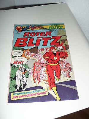Comic Comicheft - Supermann präsentiert Roter Blitz - Sonderheft Nr.37
