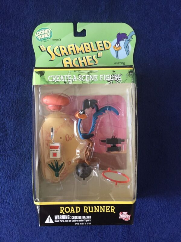 "Road Runner Looney Tunes Series 2 DC Direct ""Scrambled Aches"" Figure"