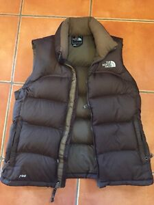 Women's North Face Down Vest - Size M