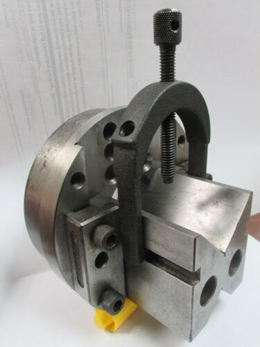 USED V-Block Holding Fixture With Vertical Adjustment (JT)