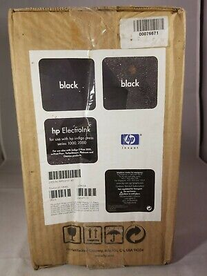 Mps 2131 43 Hp Indigo Press 1000 2000 Electroink 10 Cans Black Unopened