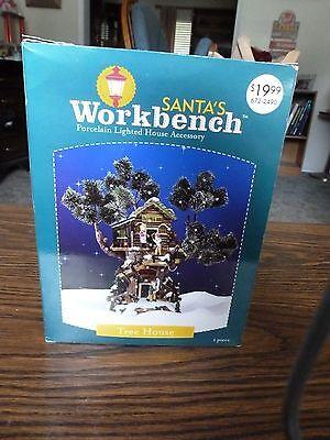 2003 Santa's Workshop Christmas Village accessory tree house