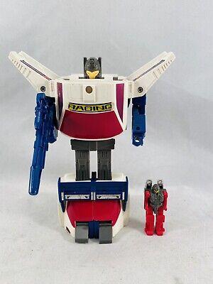 Getaway Powermaster * 100% Complete 1988 Vintage G1 Transformers Action Figure