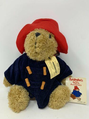 New with tags Paddington Bear Plush 40th Anniversary Edition