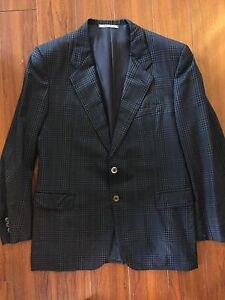 Mens navy blue blazer