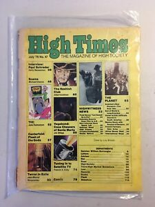 High Times, the Magazine of High Society. July 1979, issue 47.