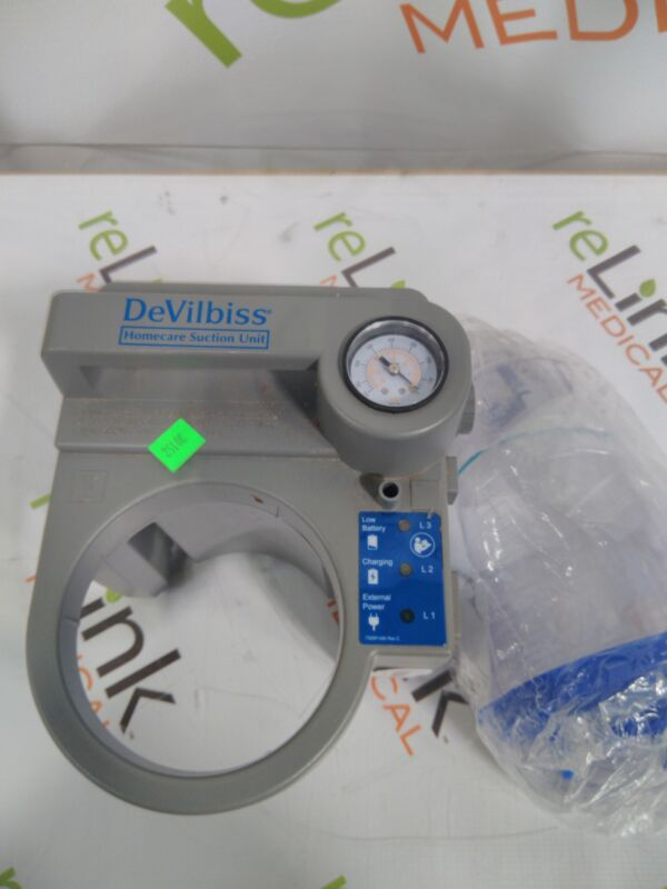 DeVilbiss Healthcare HomeCare Suction Unit compact medical suctioning device