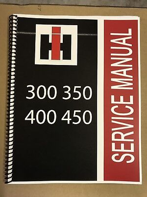350 Diesel Farmall Tractor Technical Service Shop Repair Manual Hiclear Hi Clear