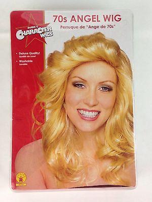 Rubie's Character Wig Blonde 70s Charlie's Angel Halloween Purim Dressup Costume