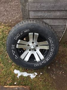 15 inch ion rims with Michelin tires 235 70 R15
