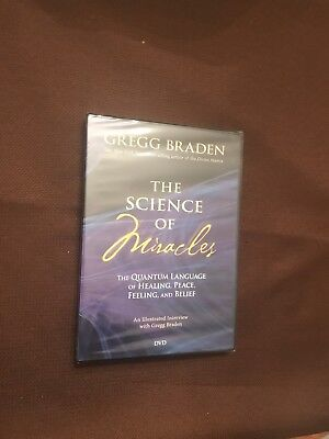 - Gregg Braden: The Science of Miracles (DVD, 2009) @Brand NEW!@ •RARE AND OOP!•