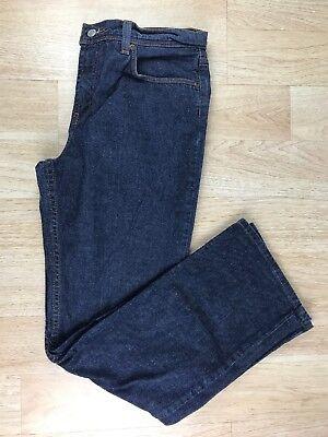 Express Womens Size 10 Dark Stonewash Blue Low Rise Boot Cut Zipper Fly Jeans Dark Stonewash Low Rise Boot Jean