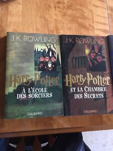 Collection des livres Harry Potter