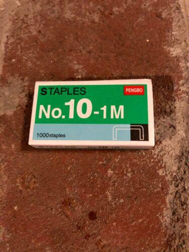 1 - 1000 Count Box of PENGBO No 10-1M Staples for  Mini Stapler