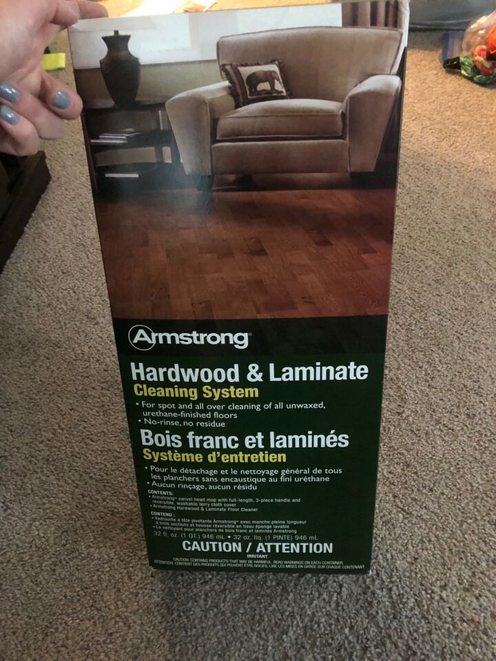 Armstrong Hardwood And Laminate Floor Cleaner System