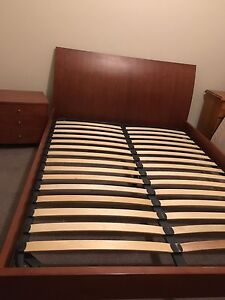 Queen bed and drawers Werribee Wyndham Area Preview