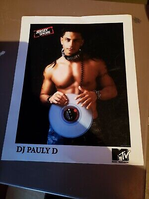 DJ Pauly D 8x10 Photo Jersey Shore