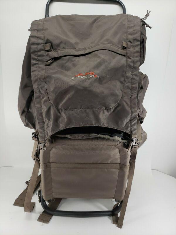 Hunting Rifle Backpack Frame Pack Bag Outdoor Hunting Camping Hiking Fishing