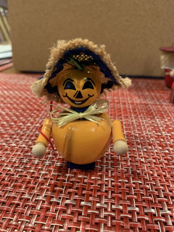 Steinbach Ornament Pumpkin Man