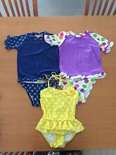 Girls size 3 swimmers Wallalong Port Stephens Area Preview
