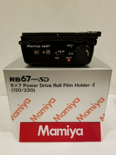 Mamiya RB PRO SD 120/220 6x7 POWER DRIVE FILM HOLDER BACK