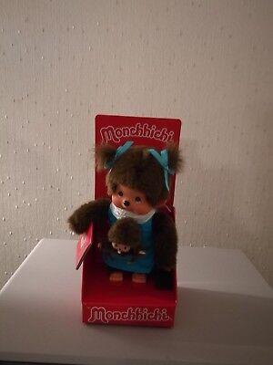 Monchhichi 20cm Mother Care Blue