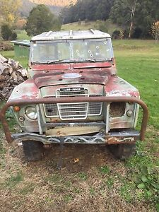 1973 Land Rover 3 Noojee Baw Baw Area Preview