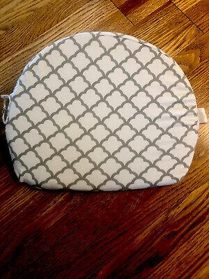 Boppy Wedge Pillow Pregnancy Gray White