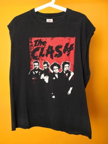 The Clash RARE London Calling M TANK TOP RARE PUNK Strummer NICE Vintage