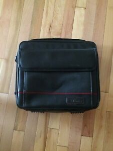 Leather Targums laptop carrying case