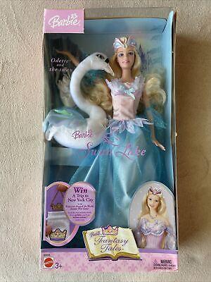 Barbie Odette SWAN LAKE Fairy Tale Collection Doll 2003 Mattel B5828 w/ Swan