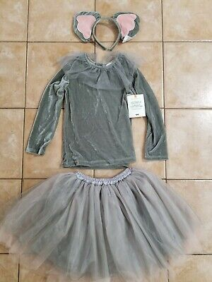 Pottery Barn Kids Elephant Tutu Halloween Costume 7-8 #4591