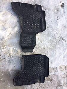 Tacoma Husky Liner floor mats