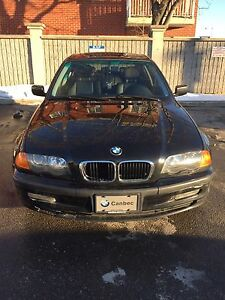 BLACK 2001 BMW 325xi 156000 KM 2500$ negotiable